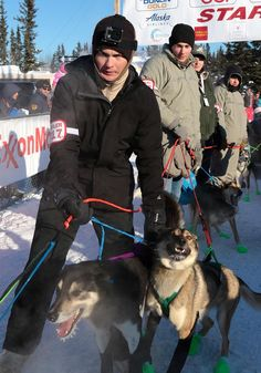 FAIRBANKS, Alaska -- The official timed start of the 2017 Iditarod Trail Sled Dog Race commenced in Fairbanks March 6, and more than 100 Fort Wainwright Soldiers volunteered to lend a hand in support of the historic event.