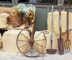 Rustic theme party decor package – Events By Design, Event Rentals of Oregon Rustic Theme Party, Cowboy Theme Party, Cowboy Birthday, Country Party Decorations, Country Birthday, Barn Parties, Western Parties, Fete Julie, Wild West Party