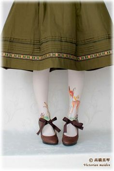 "umla: "" (via Bambi tights! | ::love, appreciate, admire:: | Pinterest) """