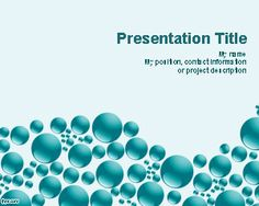 Blue Spheres PowerPoint template is a free abstract slide design with nice bubbles and blue spheres in the master slide. You can download this free PowerPoint template and free PowerPoint background with blue spheres to make presentations in Microsoft s