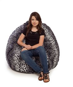 Our animal fur bean bag chairs are available in 7 different animal patterns. Our faux fur beanbags come with a fully removable cover that is washable. Huge Bean Bag Chair, Large Bean Bag Chairs, Large Bean Bags, Bean Bag Sofa, Bean Bag Uk, Bean Bags For Sale, Brown Bean Bags, Striped Dining Chairs, Girls Bean Bag