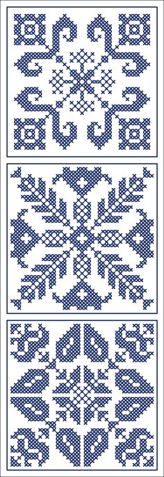 More square tiles - Chart for cross stitch or filet crochet. Cross Stitch Borders, Cross Stitch Charts, Cross Stitch Designs, Cross Stitching, Cross Stitch Embroidery, Cross Stitch Patterns, Crochet Cross, Crochet Chart, Filet Crochet