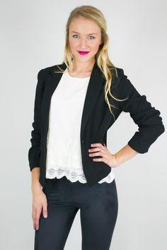 Smart 3/4 Sleeve Fashion Jacket