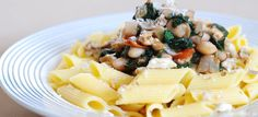 Fotorecept: Špenátovo-fazuľová omáčka s orechmi