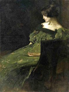 Juliette / The Green Girl (c1897-1898)  by John White Alexander