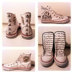 Harry Potter Sneakers by iMemii.deviantart.com on @DeviantArt