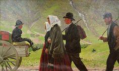 Gustav Wentzel (1859-1927): The Emigrants