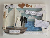 Geldgeschenk zur Hochzeit - Segelboot