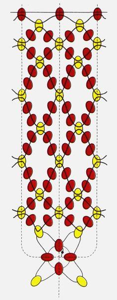 """Set """"Strawberries"""" (beads, clips, bracelet, ring) - 5"""