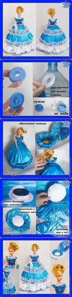 МК по созданию куклы-шкатулки   Страна Мастеров