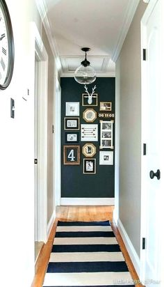 Small hallway flooring ideas hallway decorating ideas small hallway decorating ideas for your home white and . Grey Hallway Paint, Ikea Hallway, Hallway Flooring, Hallway Walls, Hallway Storage, Hallway Cabinet, Upstairs Hallway, Grey Walls, Contemporary Hallway