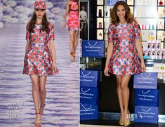 Alesha Dixon In House of Holland – 'Rose Quartz' Fragrance Photocall #fashion