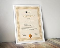 Certificate Template Certificate Design Word | Etsy Certificate Format, Printable Certificates, Certificate Design, Certificate Templates, Printable Invoice, Invoice Template, Certificate Of Appreciation, Certificate Of Achievement, Cover Letter For Resume