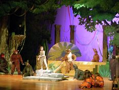 Stage design from Jungle Book Production