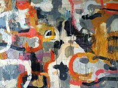 """Saatchi Art Artist Magdalena Krzak; Painting, """"Between Worlds"""" #art"""