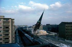 Berlin Ost, die Versöhnungskirche wurde 1985 gesprengt