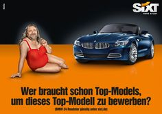 Sixt Kampagne von Oliver Voss #Sixt #Advertising