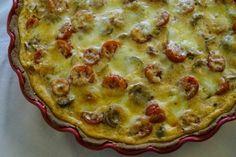 FODMAP-keittiöni - Välimerellinen kasvispiirakka
