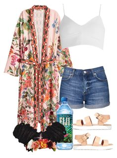 """""""Happy First Day of Summer ☀️"""" by jasmineharper ❤ liked on Polyvore featuring Topshop and d.RA"""