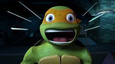 OMG MIKEY XD Greg Cipes, Tmnt Mikey, April O'neil, Tmnt 2012, Great Smiles, Baby Coming, Having A Crush, Teenage Mutant Ninja Turtles, Deviantart