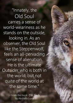 """To every Old Soul out there.– from the book """"Old Souls"""" found here: http://www.amazon.com/Old-Souls-Sages-Mystics-World-ebook/dp/B00G0L8UUU/"""