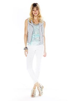 Ellie White Ankle length jean - maurices.com