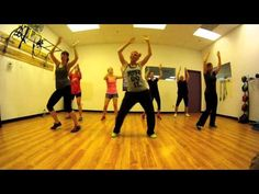 Scream & Shout - Will.i.am ft. Britney Spears Zumba with Mallory HotMess - YouTube   She has a few of these, but there so fun
