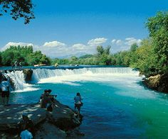Images Antalya in Turkey Manavgat waterfall 2846 Places Around The World, Around The Worlds, Amazing Destinations, Amazing Nature, Places To See, Cool Pictures, Nature Photography, Beautiful Places, Scenery