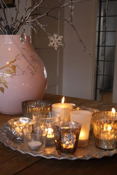 glow of candlelight