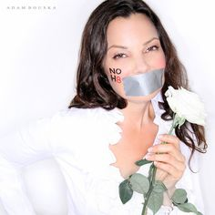 Fran Drescher | 56 Awesome NOH8 Celebrity Portraits