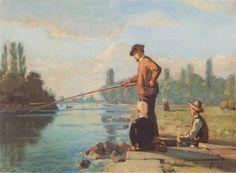 Фердинанд Ходлер_The fisherman, c.1879