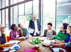 Diverse Casual Business People in a Meeting - Stock Photo - Images