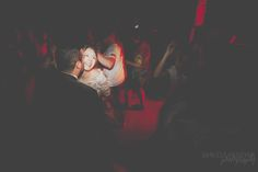 Bride in the red Light. || Daniele Padovan Wedding photography