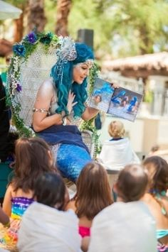 Mermaid University is part of the fun at Summer Beach Party at the Fairmont  Scottsdale Princess 6d9c24681