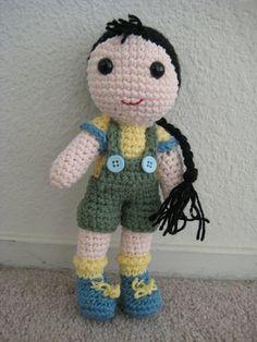 Amigurumi doll #handmade #crochet #doll
