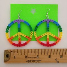 Items similar to ButterFly Ornament (Party Favors, Cupcake Toppers, Cake Topper) on Etsy Fuse Beads, Pearler Beads, Butterfly Ornaments, Crafts For Kids, Diy Crafts, Paper Roll Crafts, Hama Beads Patterns, Work Activities, Perler Bead Art