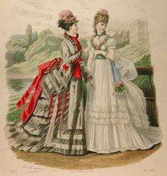1874 revue de La Mode