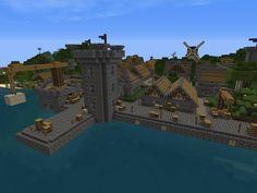 minecraft harbor - Google Search