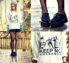 Keep no husbands (by Petra Karlsson) http://lookbook.nu/look/4092846-keep-no-husbands