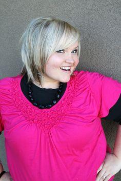 Love her hair-House of Smith's mama always has the cutest hair!!
