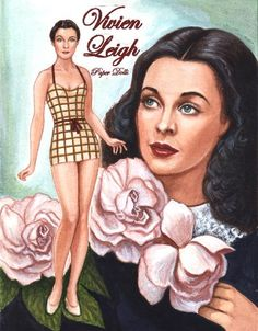 [Vivien Leigh] Beautiful Gone With The Wind Paper Dolls