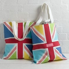 Happy Jack Shopper Bag  by Sweet Home London. #accessory #UK #colorfull
