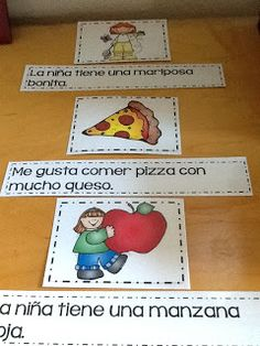 Maestra Sandoval: Matching UP Sentences