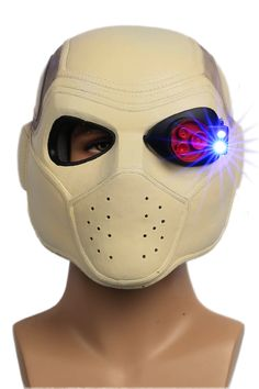 Deadshot Helmet Mask Suicide Squad 2016 New Movie Cosplay Props Full Head Resin…