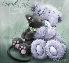 Tatty Teddy - Black Kitties are Good Luck 😊 Tatty Teddy, Bear Cartoon, Cute Cartoon, Cute Images, Cute Pictures, Teddy Bear Quotes, Teddy Bear Pictures, Bear Pics, Blue Nose Friends