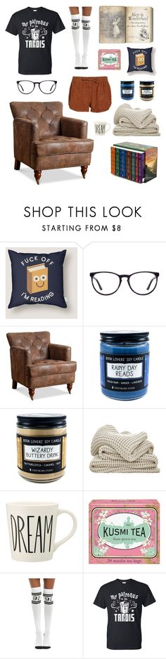 """#126"" by howl-owl ❤ liked on Polyvore featuring Kusmi Tea, Warner Bros., Ganni, Fall, harrypotter, aliceinwonderland and bookworm"