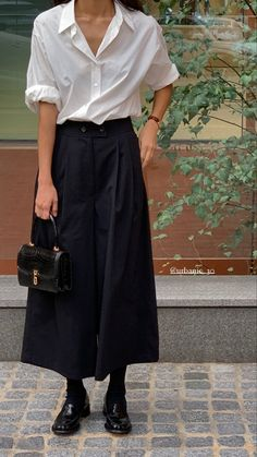 Looks Style, Casual Looks, My Style, Minimal Fashion, Work Fashion, Fashion Design, Mode Outfits, Fashion Outfits, Womens Fashion