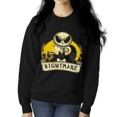 My Nightmare Before Christmas Women's Sweatshirt Women's Sweatshirt Cloud City 7 - 1