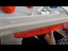 (73) TUTO: Béret fantaisie avec la machine Lk 150 - YouTube Knitting Videos, Crochet, Outdoor Blanket, Knitting Machine, Charts, Youtube, Patterns, Bee House, Crochet Stitches Patterns