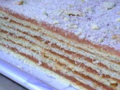 Sweet And Salty, Vanilla Cake, Food To Make, Dessert Recipes, Food And Drink, Sweets, Bread, Cookies, Baking